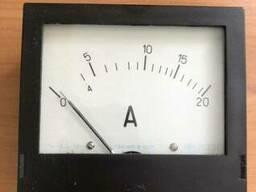 Амперметр переменного тока щитовой Э365-1 20А