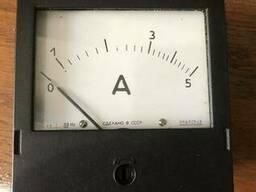 Амперметр переменного тока щитовой Э365-1 5А