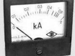 Амперметр переменного тока щитовой Э365-1 (ассортимент)