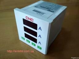 Амперметр вольтметр цифровой трехфазный CNC