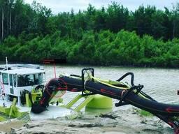 Земснаряды из Канады Amphibex AE800P.