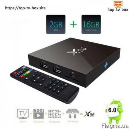 Andoid TV BOX (ТВ-Приставка) X96 2G/16G, проц. Amlogic S905x