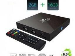Andoid TV BOX (ТВ-Приставка) X96 2G/16G, проц. Amlogic S905x - фото 1