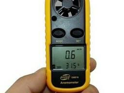 Анемометр Benetech GM-816 цифровой измеритель скорости ветра