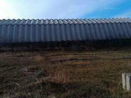 Ангар шатровый, алюминиевый 30х12 м.