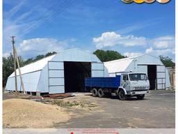 Ангар для зведення складських, сільськогосподарських, виробничих будівель
