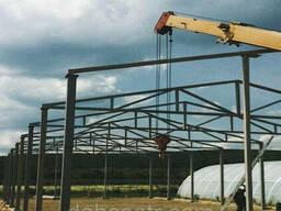 Ангар Двускат 24х60 навес, фермы, цех, здание, помещение...