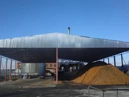 Ангар навес 15х50 ( 30х50 )склад зерноток хранилище
