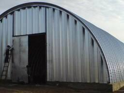 Рулонная сталь для Ангаров, Складов 1,0-1,2мм Цинк 120-140