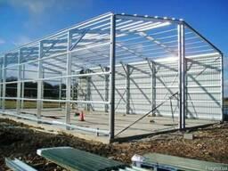 Ангары -быстромонтируемые энергосберегающие здания