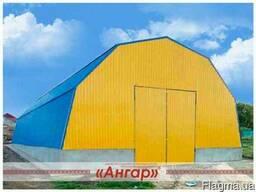 Ангары, зернохранилища, сенохранилища, склады, цеха, фермы