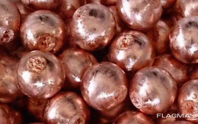 Кульки з мідно-нікелевого сплаву