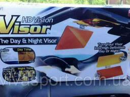 Антибликовый солнцезащитный козырек для автомобиля HD Vision Visor Clear View ( Эйч Ди. ..