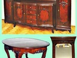 Антикварная гостиная/столовая (комплект)