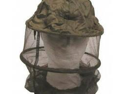 Антимоскитная сетка на голову с резинкой MFH, олива