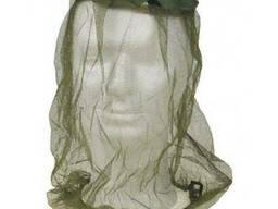 Антимоскитная сетка на голову с резинкой MFH, oliv/woodland
