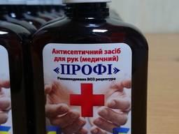 Антисептик дезинфектор для рук спиртовой, санитайзер