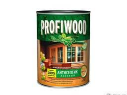 Антисептик лаковый 3в1 алкидный Profiwood орех глянцевый 0,7