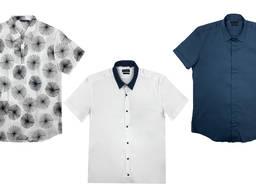 Antony Morato мужская рубашка с коротким рукавом микс