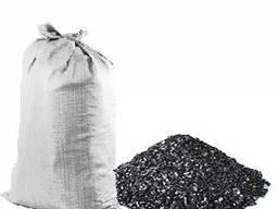 Антрацит, уголь, вугілля , 35-100 мм, орех
