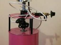 Апарат Сладкая вата газовый УСВ-4, добавки и палочки деревян - фото 3