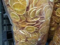 Апельсин кружочками сушеный