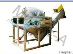 Аппарат для паротермической очистки корнеплодов А9-КЧЯ. Изго