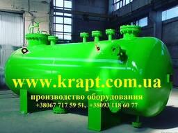 Аппараты емкостные цилиндрические для газовых и жидких сред