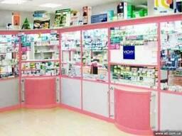 Аптечная мебель, торговая мебель, изготовление мебели на заказ