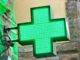 Аптечный крест лед