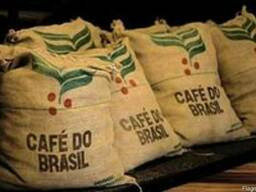 Арабика Бразилия Сантос, натуральный, зеленый(необжаренный)