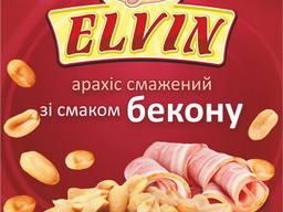 Арахіс смажений з різними смаками 60 г TM Elvin