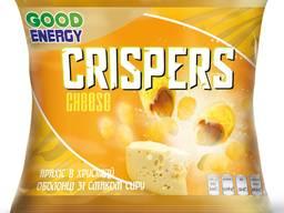 Арахіс в хрусткій оболонці зі смаком сиру Crispers 30 г ТМ Good Energy