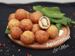 Аранчини, рисовые шарики с наполнением