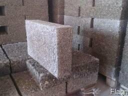 Арболитовые блоки теплоизоляционные. Фасадный утеплитель