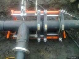 Аренда аппарата для сварки ПЕ труб от 63 до 630 диаметра