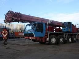 Аренда Автокрана 70 тонн Krupp KMK 4070