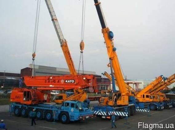 Аренда автокрана 220 - 300 тонн, кран 120 - 140 тонн, кран 100 - 90 тонн, кран 80-30 тонн