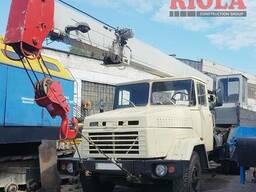 Аренда автокрана КрАЗ г/п 10 т стрела -14 м
