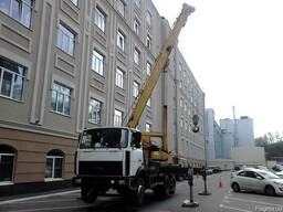 Аренда автокрана Машека КС 55727 Киев.