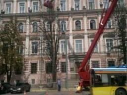 Аренда автовышки 22 метра в Киеве (АГП-22)
