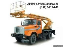 Аренда автовышки 17-40 метров Аренда подъемников Киев.