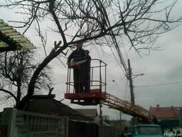 Аренда автовышки Киев. Аренда услуги автовышки Киев.