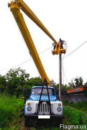 Аренда автовышки ВС-18, автовышка локтевая- 18 метров