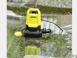 Аренда дренажного насоса для грязной воды