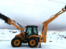 Аренда экскаватора, чистка снега, вывоз снега Киев, Киевская область