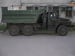 Вывоз мусора, грунта. Урал вездеход самосвал. Погрузчик.