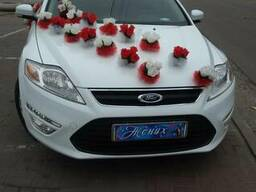 Аренда Форд Мондэо (белоснежного цвета) с водителем - фото 4