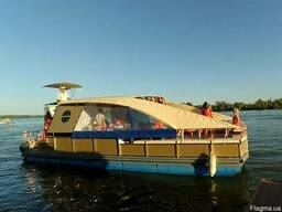 Аренда катера Днепр | Прогулки на катере до 20 гостей
