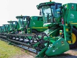 Аренда комбайна для уборки зерновых 2019